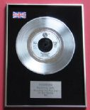 MADONNA - Material Girl PLATINUM single presentation DISC